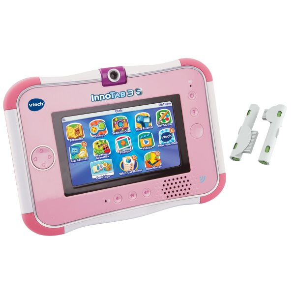 Vtech Innotab 3S Pink with Rechargeable battery P