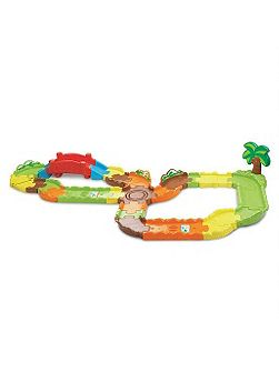 Toot toot animals track set