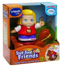 Toot-Toot Friends Maddie & Rocking Horse