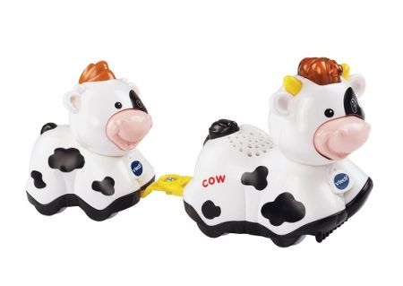 Vtech Toot Toot Animals Mummy and Baby Cow