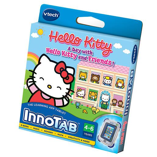 Vtech Vtech innotab game  a day with hello kitty and f