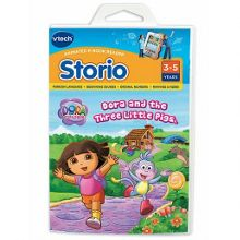 Storio - dora and the three little pigs