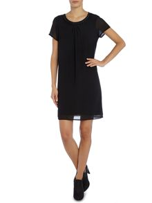 La Fee Maraboutee Short-Sleeved Dress