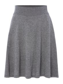 La Fee Maraboutee Short Knitted Flared Skirt