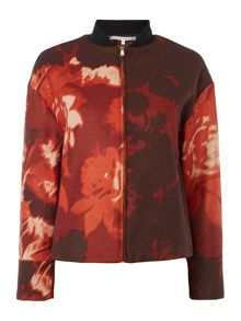 Printed Zip Jacket