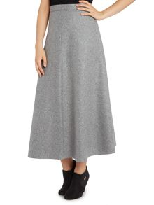 La Fee Maraboutee Flared Flannel Ankle-Length Dress