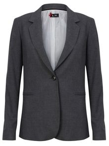 Elbow Padded Blazer