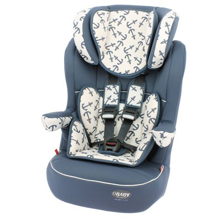 OBABY 1, 2, 3 High Back Booster Seat