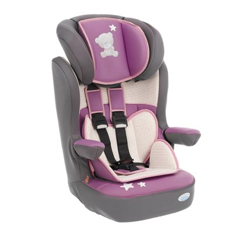 OBABY 1/2/3 highback booster car seat - pink