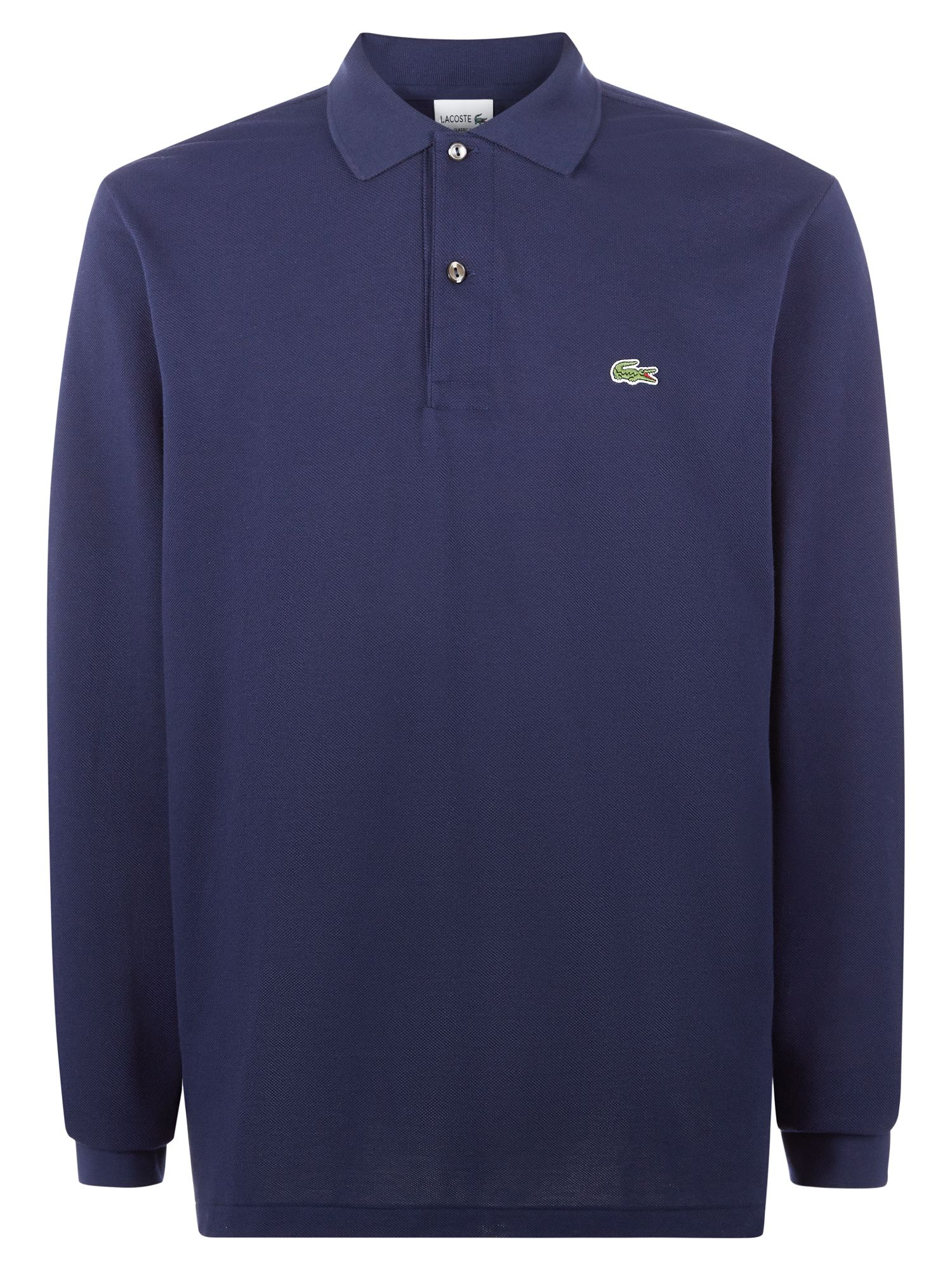 Men's Lacoste Lacoste Long Sleeve L.12.12 Polo, Blue