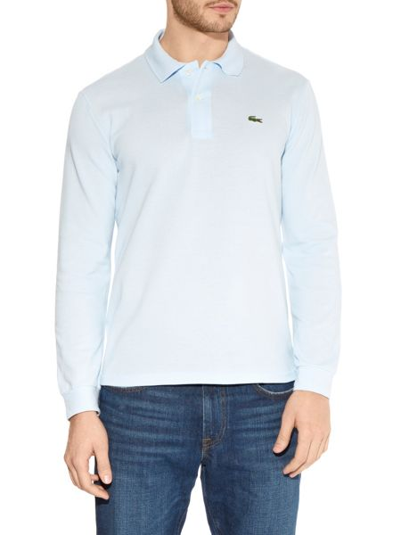 Long sleeved classic polo