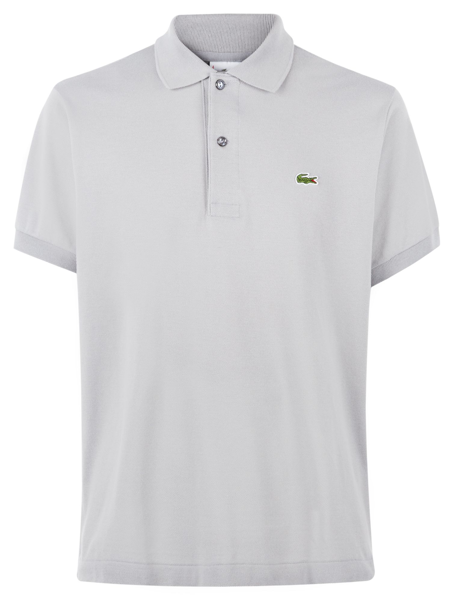 Men's Lacoste Plain l.12.12 original polo, Mineral