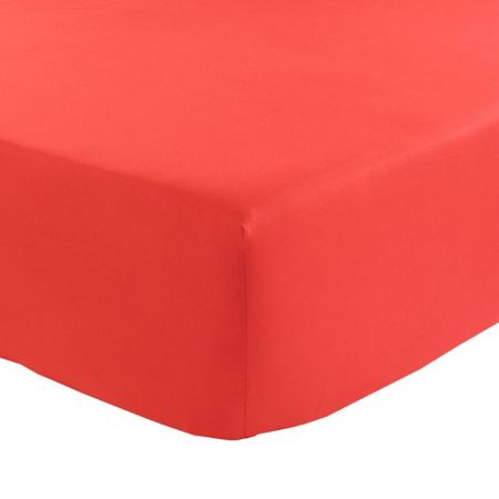 Olivier Desforges Alcove rouge fitted sheet 90x190
