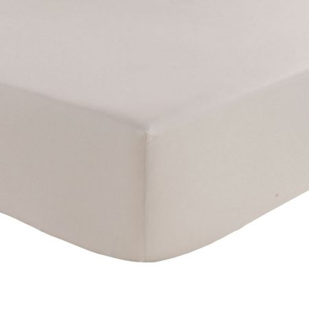 Olivier Desforges Alcove perle fitted sheet 90x190