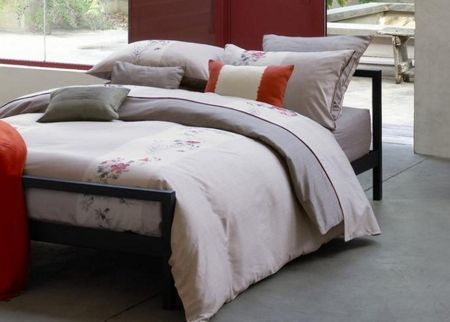 Olivier Desforges Paravent grege double fitted sheet