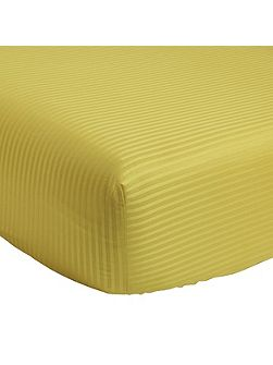 Baptiste zest fitted sheet 90x200