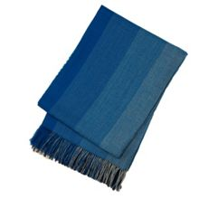 Hugo Boss Malibu blue throw 130x180
