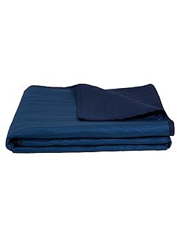 Voice blue bed cover 275x260