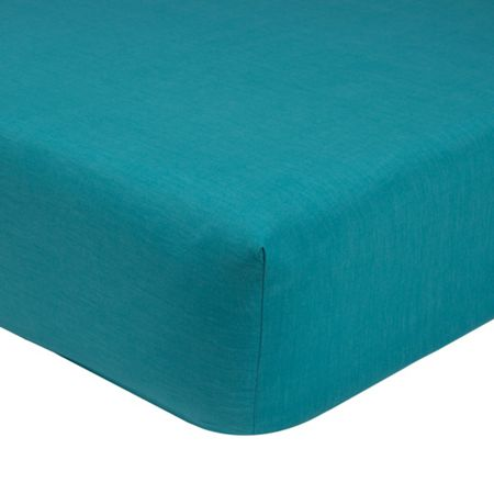 Olivier Desforges Alcove saphir single fitted sheet