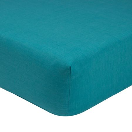 Olivier Desforges Alcove saphir double fitted sheet
