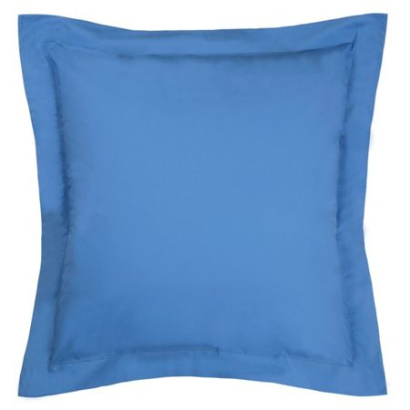 Olivier Desforges Alcove azur square pillowcase
