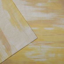Illusion yellow double flat sheet