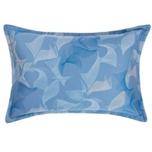Waterwalk blue standard pillowcase