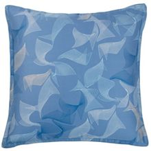 Waterwalk blue square pillowcase