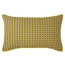 Olivier Desforges Folk Jaune cushion cover