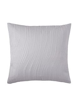 Voice Chalk square cushion cover