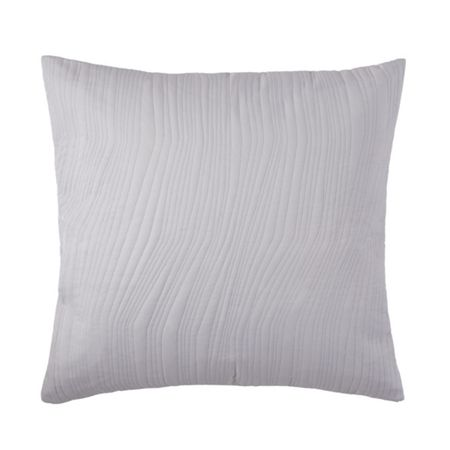 Hugo Boss Voice Chalk square cushion cover