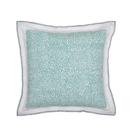 Olivier Desforges Corsage Aqua cushion cover