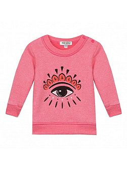Girls Fancy Eye Sweatshirt