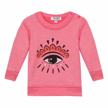 Kenzo Girls Fancy Eye Sweatshirt