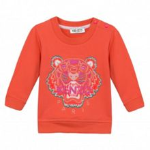 Kenzo Girls Embroidered-Tiger Sweatshirt