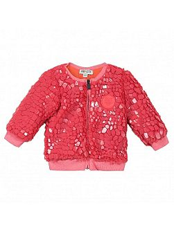 Girls Printed Cardigan