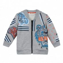 Kenzo Boys Jungle-Print Cardigan