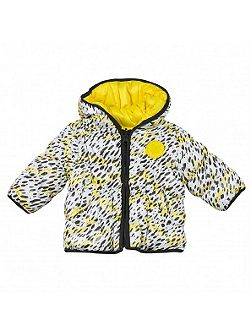 Girls White Tiger Theme jacket