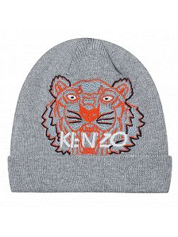 Boys Tiger Logo Bonnet