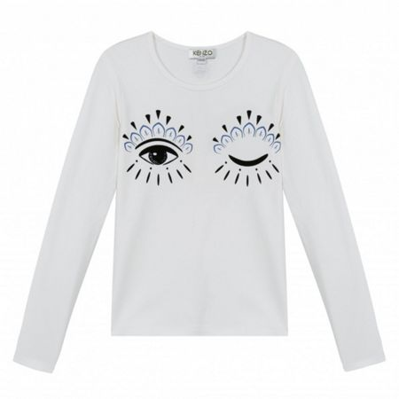 Kenzo Girl Long Sleeved T-Shirt