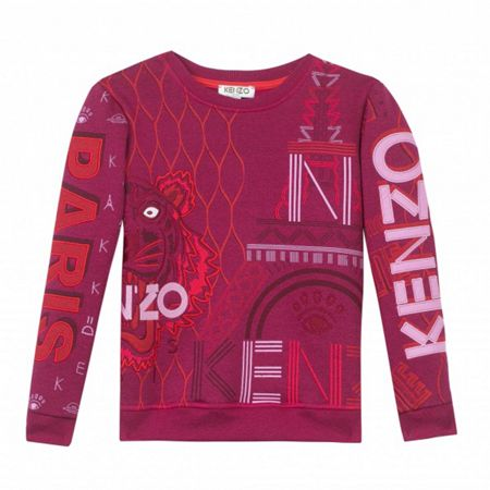 Kenzo Girls Jungle Vibes Sweatshirt