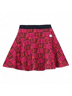Girls Love-Print Skirt