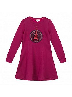 Girls Eiffel Tower Dress