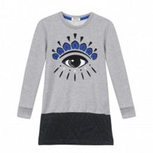 Kenzo Girls Respect & Smile Dress