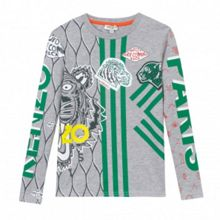 Kenzo Boys Jungle Cotton T-Shirt