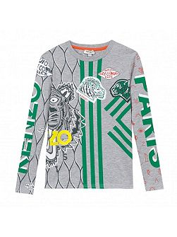 Boys Jungle Cotton T-Shirt