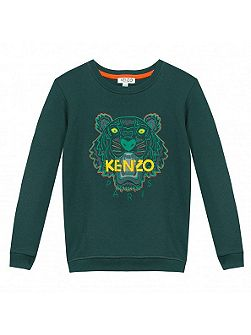 Boys Jungle Tiger Sweatshirt