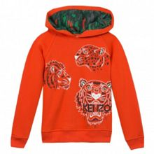 Kenzo Boys Jungle-Print Hooded Sweatshirt