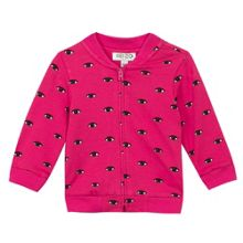 Kenzo Baby Girls Eye Print Zip Up Sweatshirt