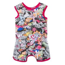 Kenzo Baby Girls Cartoon Print  All In One